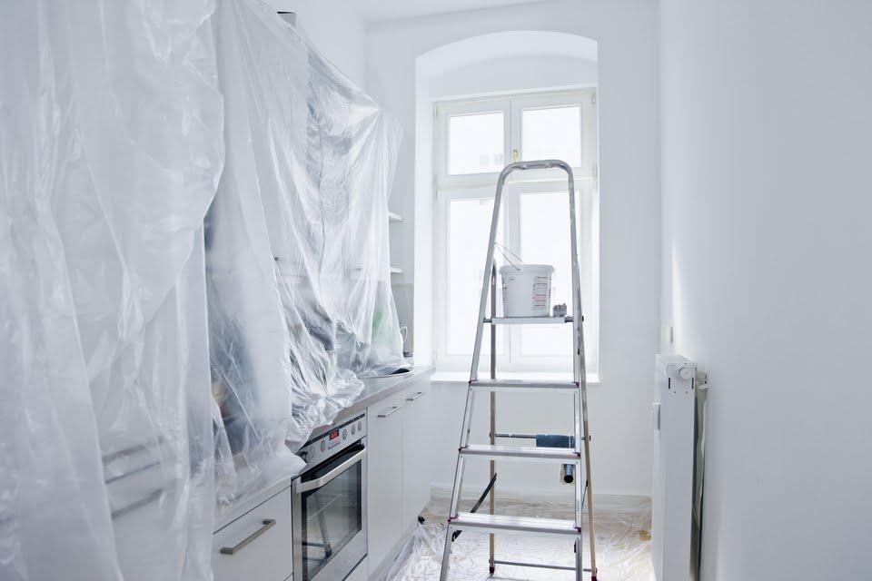 imbiancare casa - cosa bisogna fare prima?