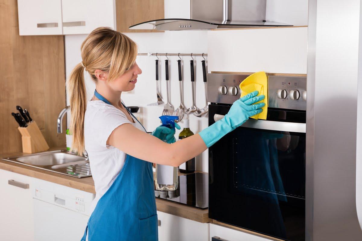Pulizie di casa - la cucina