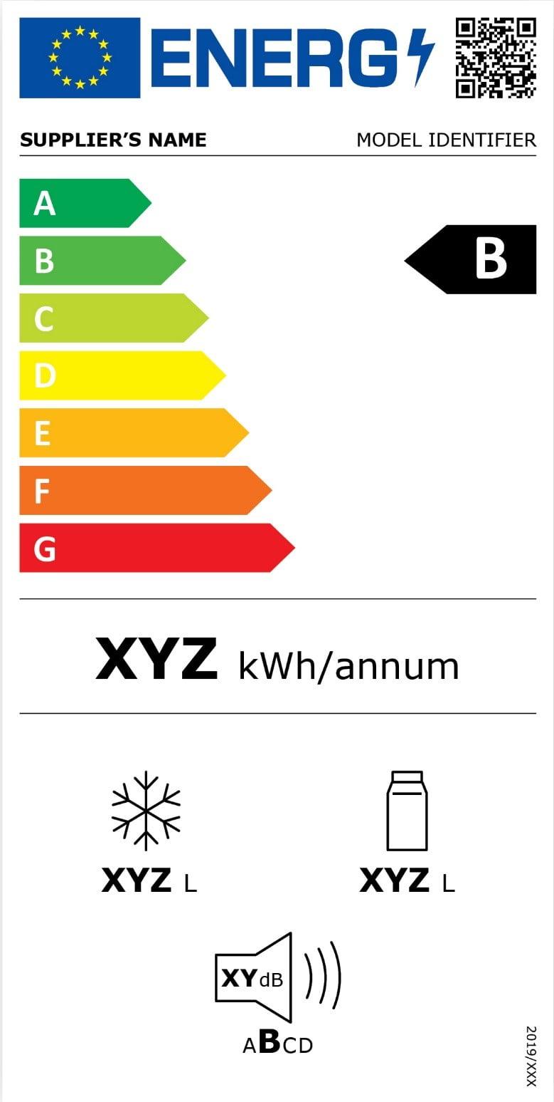 Etichette elettrodomestici