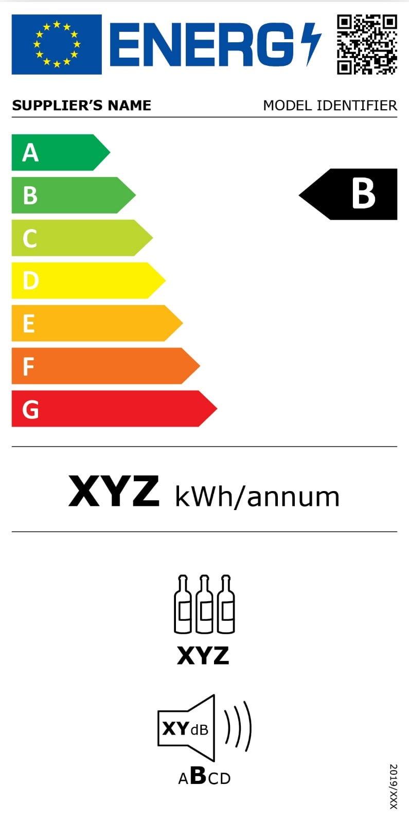 Etichette degli elettrodomestici