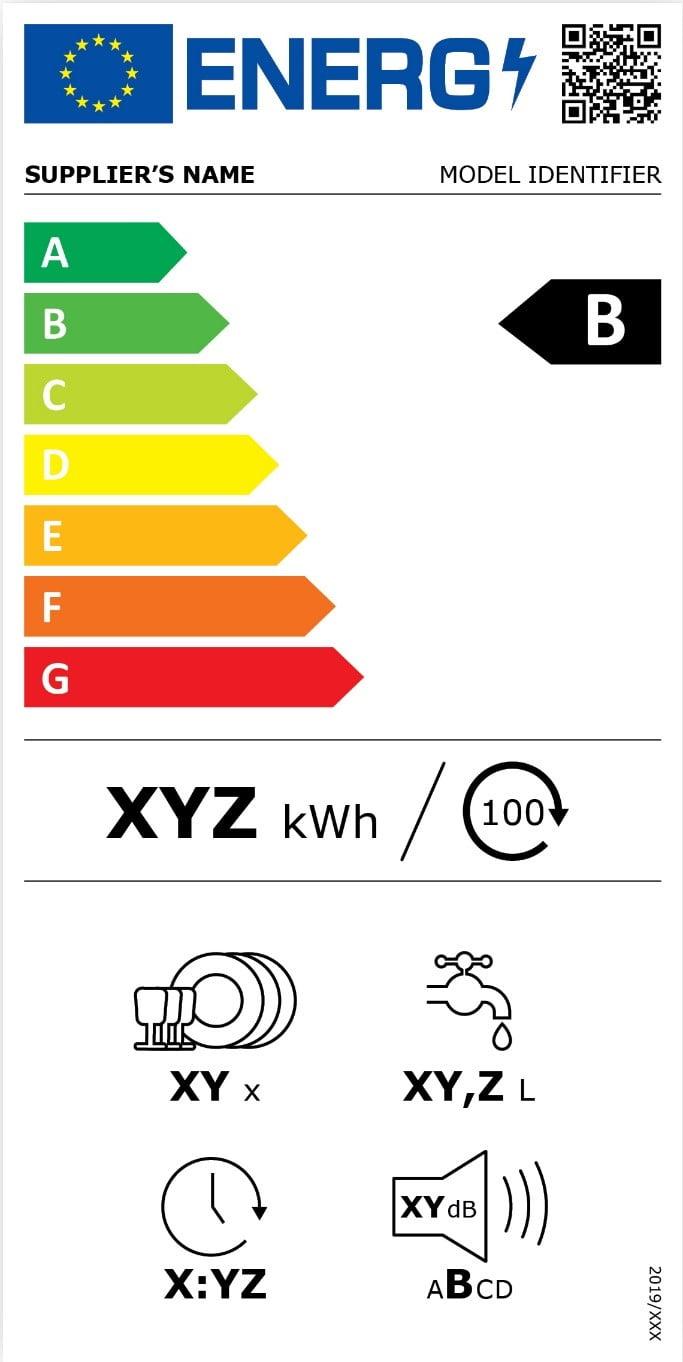 Etichetta elettrodomestico