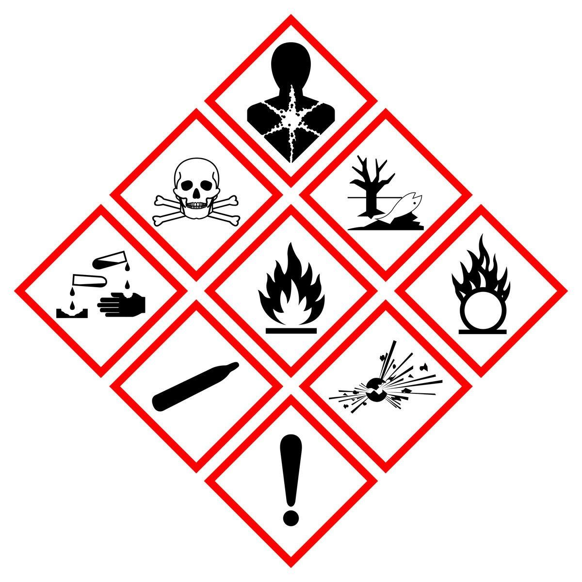 etichette prodotti chimici regolamento clp